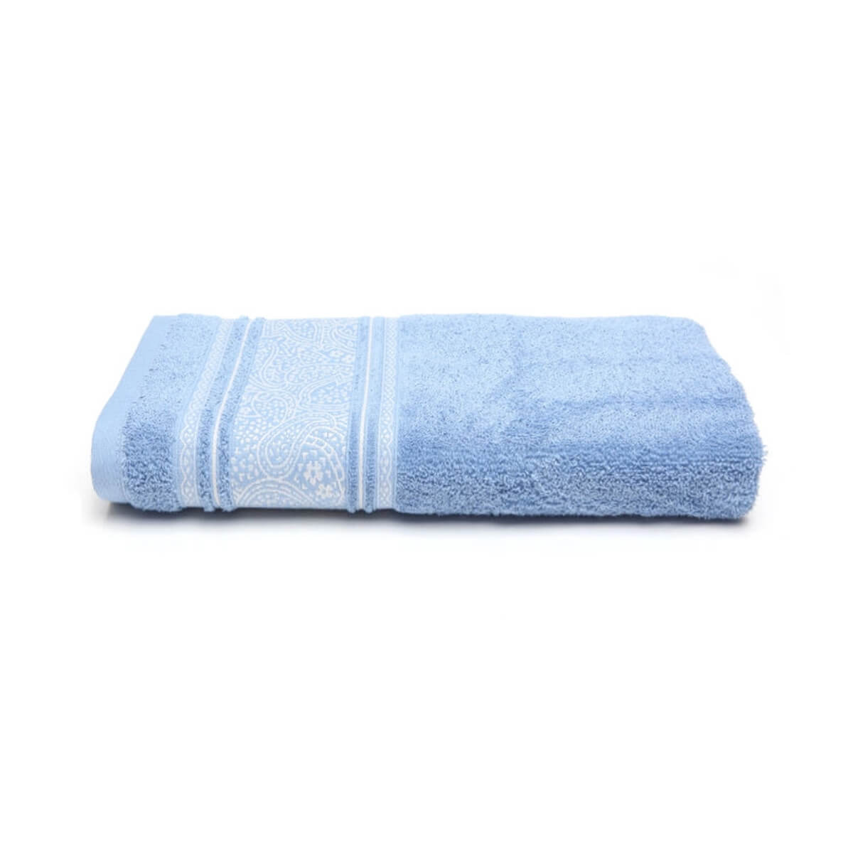 Toalha de Rosto Platinum Pérsia Azul