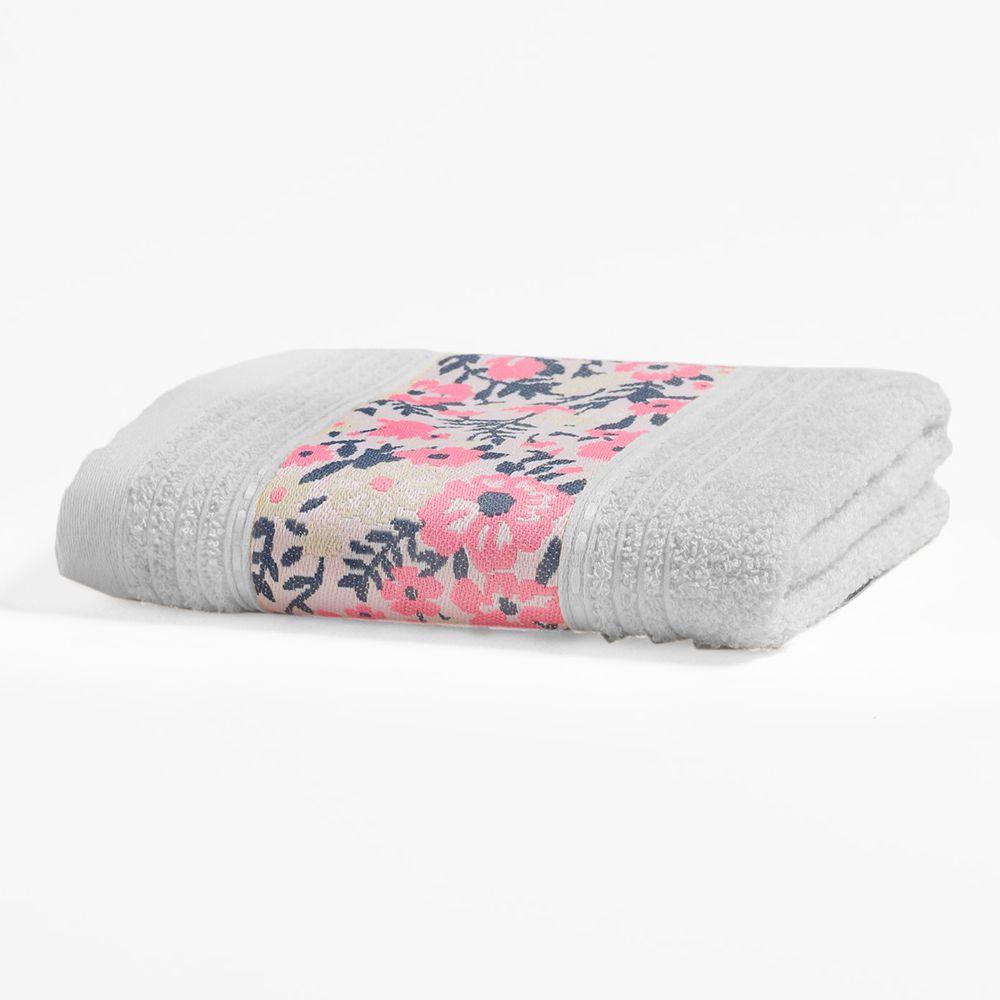 Toalha de Rosto Total Mix Isabeli Branca