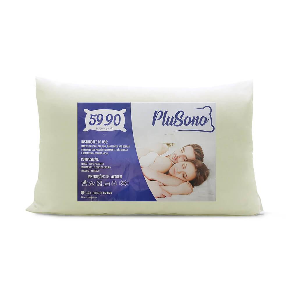 Travesseiro Plus Sono Suporte Médio
