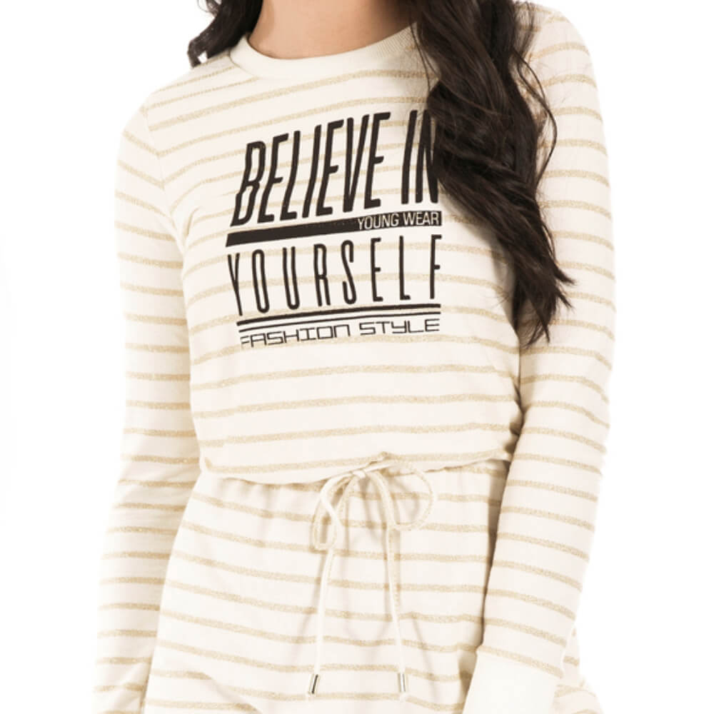 Vestido Feminino Believe Yourself
