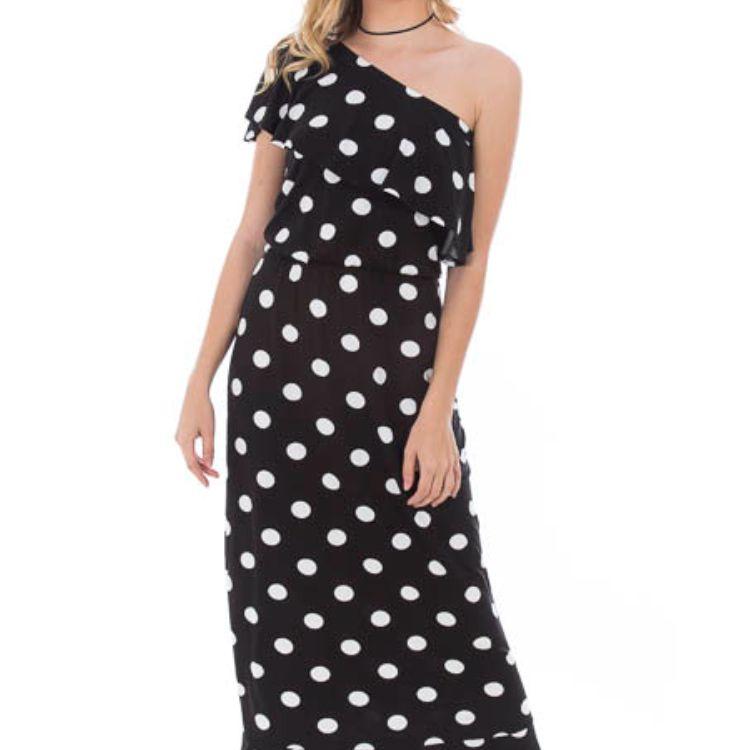 Vestido Feminino Longo Preto