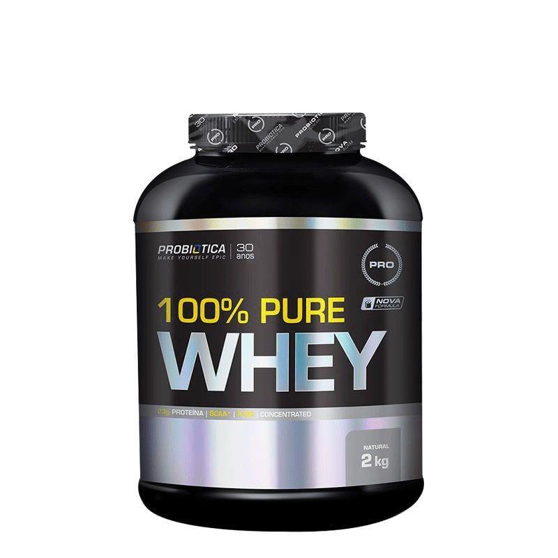 100% Pure Whey 2Kg - Probiotica