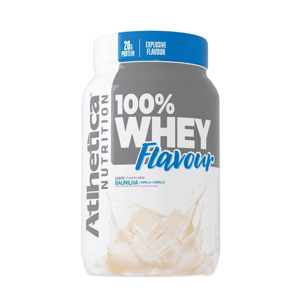 100% WHEY FLAVOUR 900g - Atlhetica Nutrition