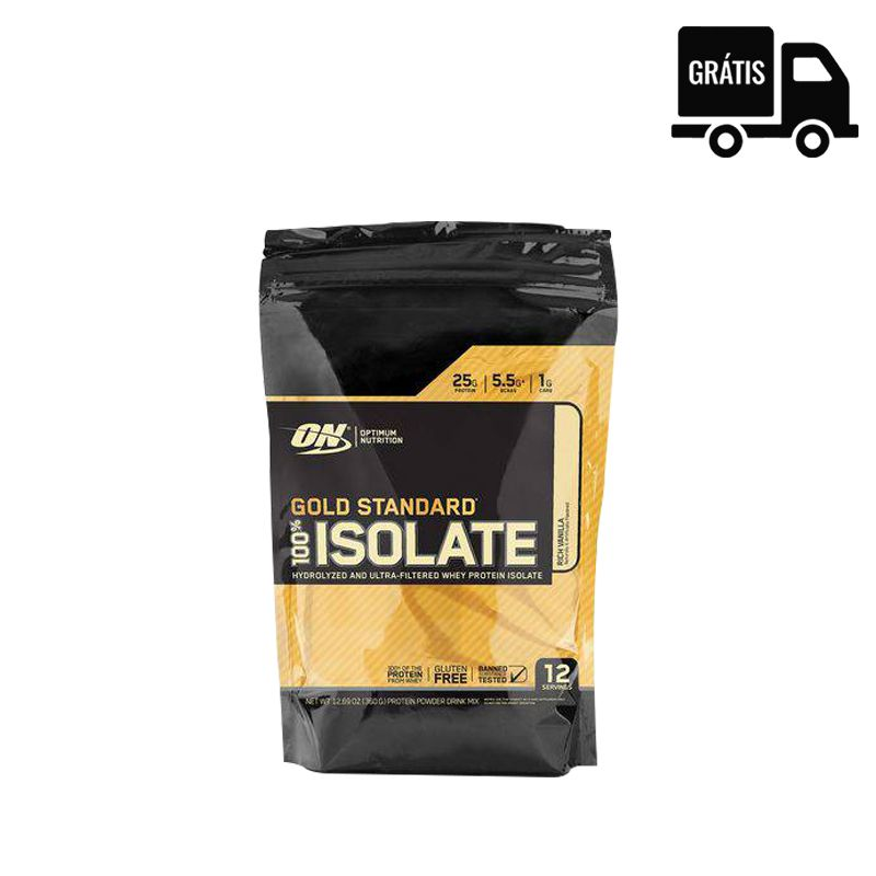 100% Whey Gold Standard Isolate 358g - Optimum Nutrition