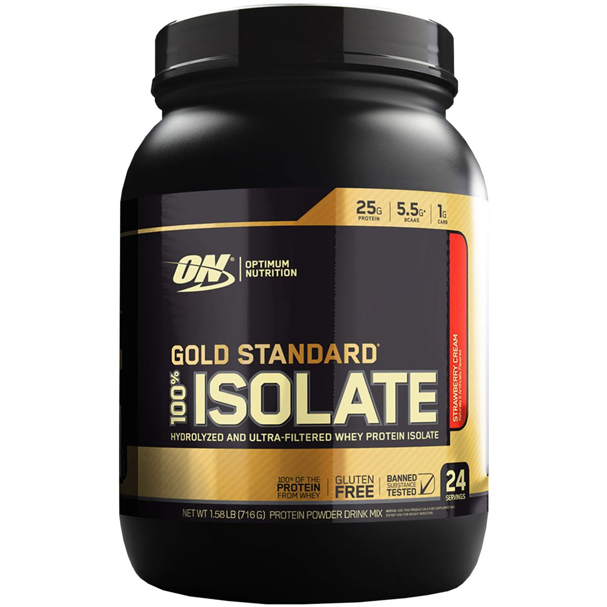 100% Whey Gold Standard Isolate 720g - Optimum Nutrition