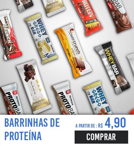 barrinhas de proteina