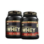 2x 100% Whey Gold Standard 2.4lbs (1,09kg) - Optimum Nutrition