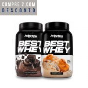2x Best Whey 900g - Atlhetica Nutrition