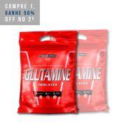 2x Glutamine Natural Pouch 1kg - IntegralMedica