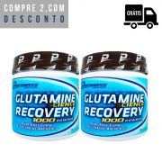 2x Glutamine Recovery 300g - Performance