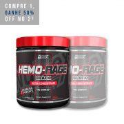 2x Hemorage Black 30 Doses (171g) - Nutrex