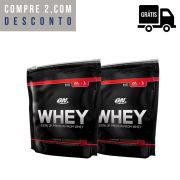 2x On Whey 837g (1,67Kg Total) - Optimum Nutrition