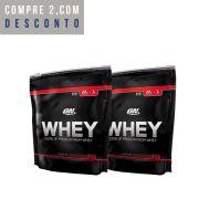 2x On Whey 837g (1,67Kg Total) - Optimum Nutrition