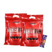 2x Sinister Mass Hypercaloric 3Kg + 1x Uau! Protein Bar