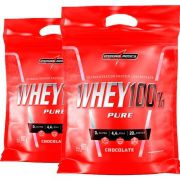 2x Super Whey 100% Pure 907g (1,81Kg Total)