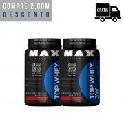 2x Top Whey 3W 900g - Max Titanium