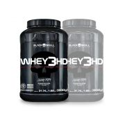 2x Whey 3HD 900g - Black Skull
