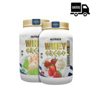 2x Whey Grego Isolate 900g – Nutrata