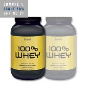 2x Whey Protein 100% 2lbs (908g) - Ultimate Nutrition
