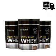 3x 100% Pure Whey 825g - Probiotica