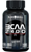Bcaa 100 caps - 2400 - Caveira preta