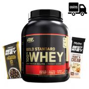 KIT: 100% Whey Gold 2,25Kg + Brindes