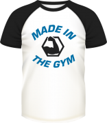 Camisa MADE IN THE GYM - TEAM BC