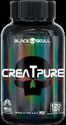Creatpure 120 Caps. - Black Skull