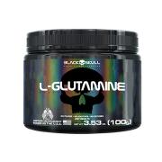 L-Glutamine 100g - Black Skull