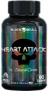 Heart Attack 60 Caps. - Black Skull