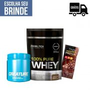 KIT: 100% Pure Whey 825g + Creature 300g + Wafer Protein Mini
