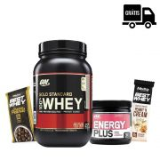 KIT: 100% Whey Gold 900g + Energy Plus 150g