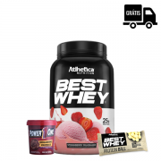 KIT: Best Whey 900g + Pasta Proteica 500g + Protein Ball