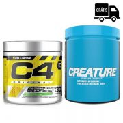KIT: C4 30 Doses + Creature 300g