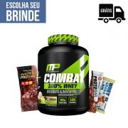 KIT: Combat 100% Whey 1,8Kg + 3 Barrinhas