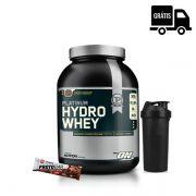 KIT: Hydro Whey Platinum 1,59Kg + Protobar + Coqueteleira