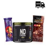 KIT: No Control 300g + Uau! Protein Bar + Wafer Protein Mini