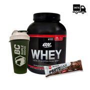 KIT: On Whey 2,04Kg + Coqueteleira + Protobar