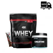 KIT: On Whey 837g + Creatine 300g + Protobar