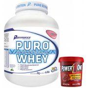Kit: Puro Whey 2Kg + Brigadeiro Proteico 500g