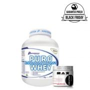 KIT: Puro Whey 2Kg + Glutamine 300g
