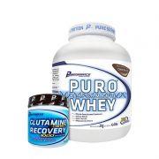 KIT: Puro Whey 2Kg + Glutamine Recovery 300g