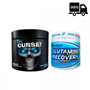 KIT: The Curse 50 Doses + Glutamine Recovery 300g