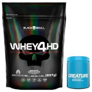 KIT: Whey 4 HD 837g + Creature 300g