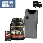KIT: Whey Gold 2.4 + Lipo 6 Black 120 Caps. + Brindes