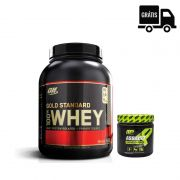 KIT: Whey Gold Standard 5lbs + Assault 300g