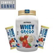 KIT: Whey Grego 900g + 2x Barrinhas