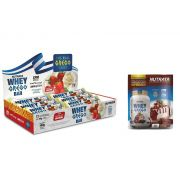 KIT: Whey Grego Bar 12 Uni. + 1 Whey Grego Sachê