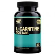 L-Carnitine 500mg 60 Tabs. - Optimum Nutrition