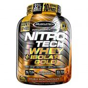 NitroTech Whey Isolate Gold 1,81Kg - MuscleTech